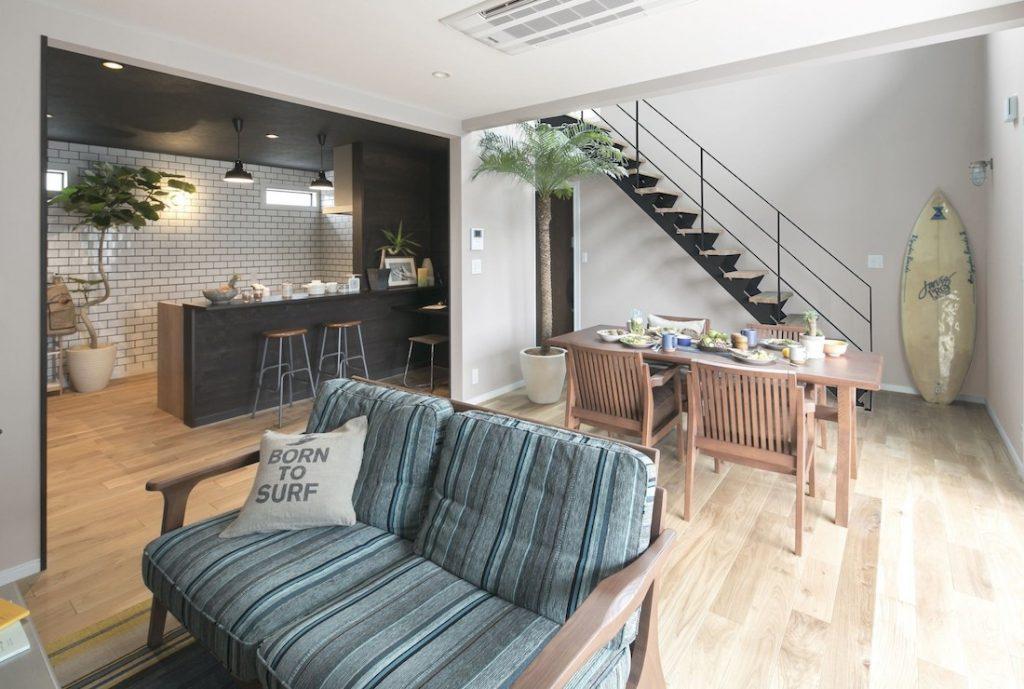 富山市窪本町モデルハウス 街中で豊かな時間を愉しむ為の家